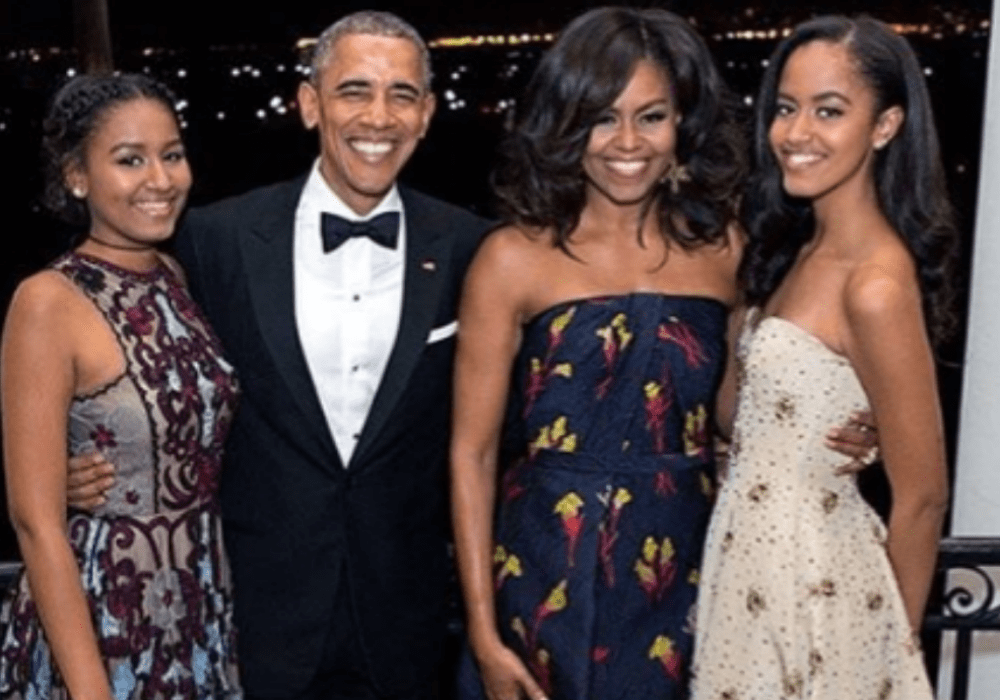 Barack Obama and Michelle Obama Valentine's Day 2019