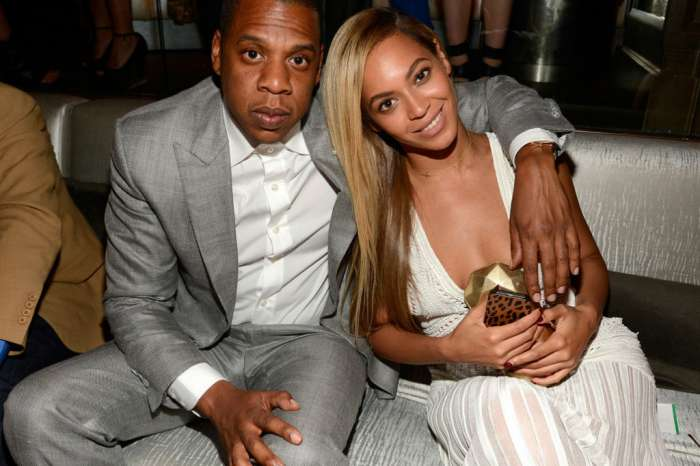 Beyoncé & Jay-Z Accepting BRIT Award In Front Of Meghan Markle Portrait Has Fans Freaking Out