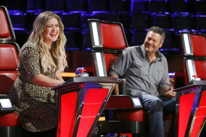 """Blake Shelton Reveals Other 'The Voice' Coaches Kids Use Him As """"Jungle Gym"""" On Set"""