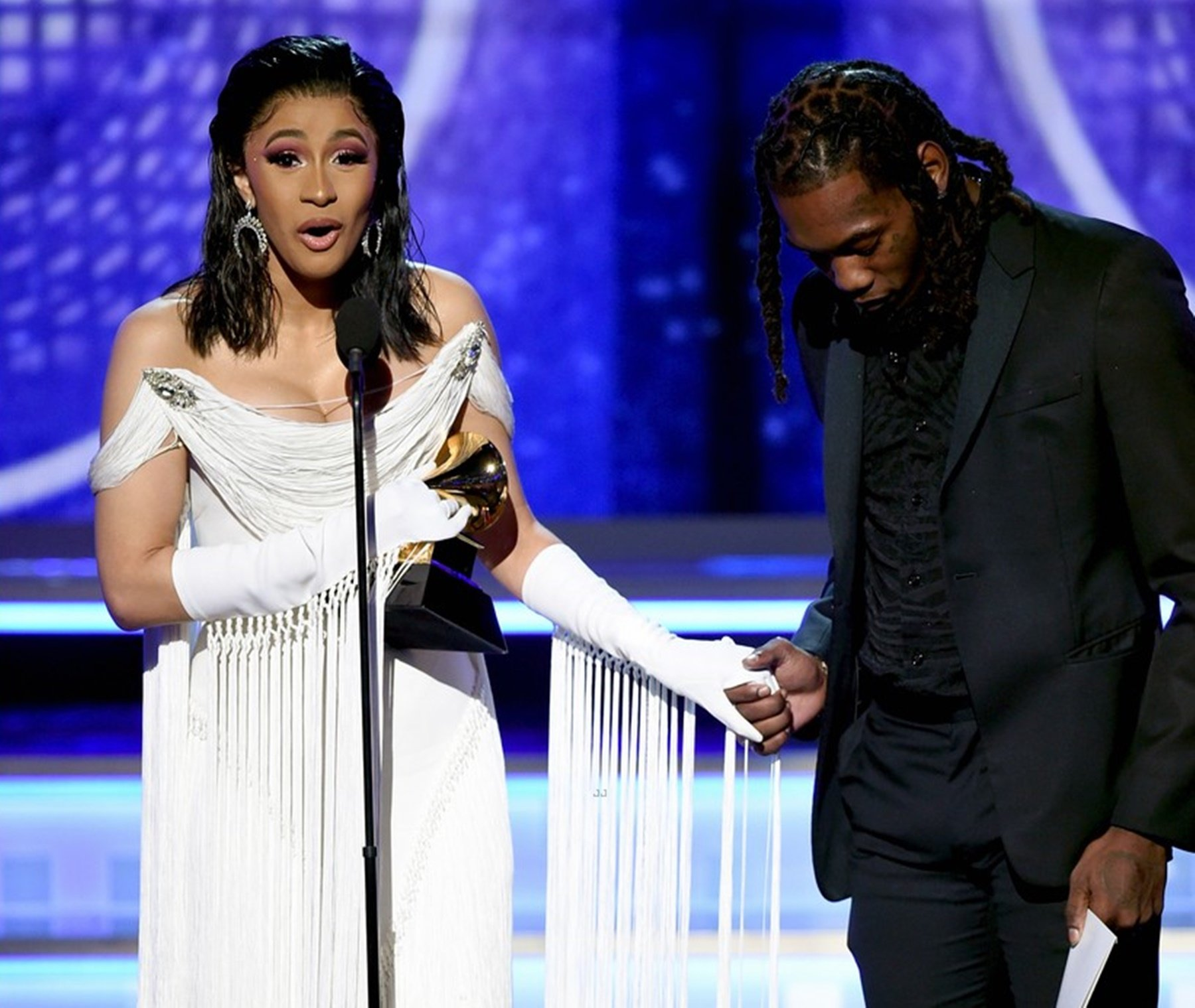 Cardi B Offset Grammy Awards The Migos