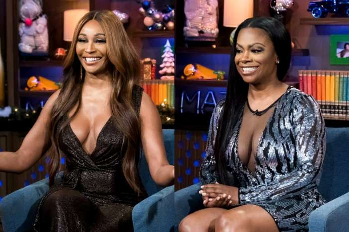 Kandi Burruss Celebrates Cynthia Bailey's Birthday With Racy Pics And Funny Videos - Fans Call Kandi 'The Hottest'