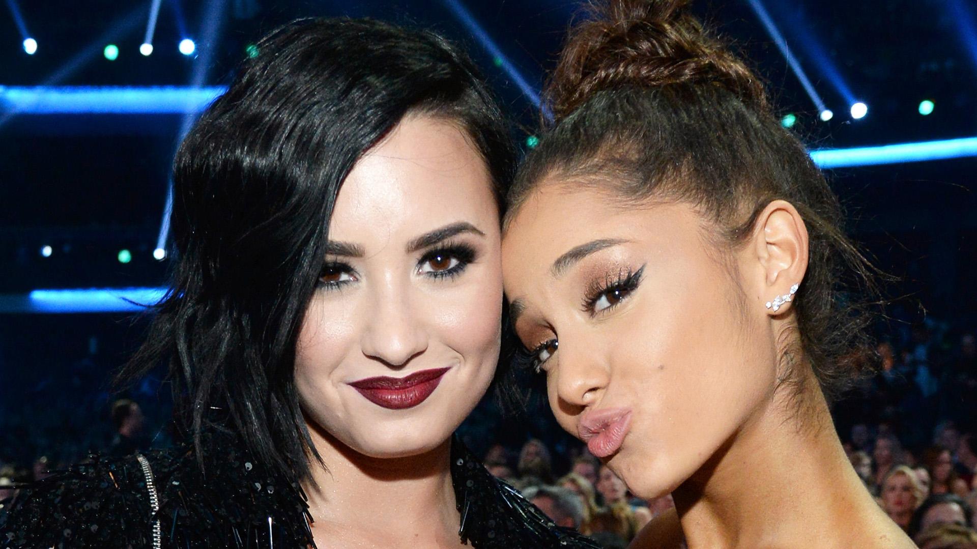 Demi and Ariana