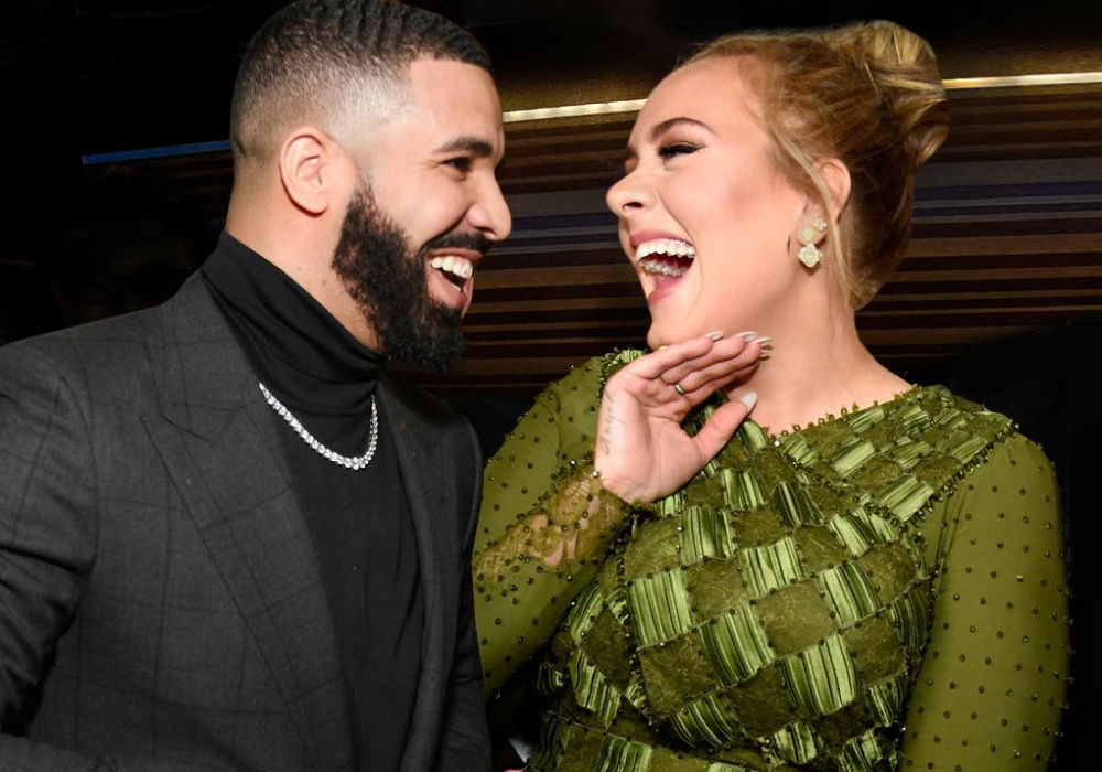 Drake And Adele Are Hollywood's Most Unlikely BFFs