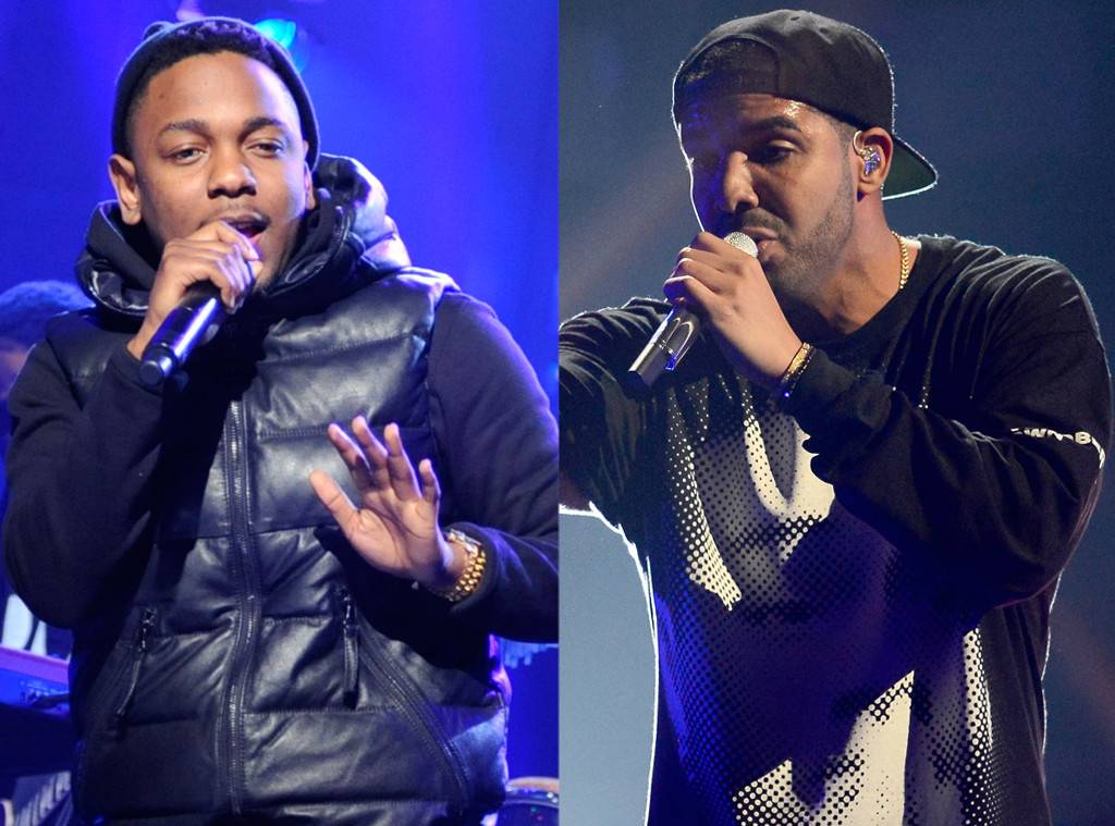 Drake and Kendrick Lamar