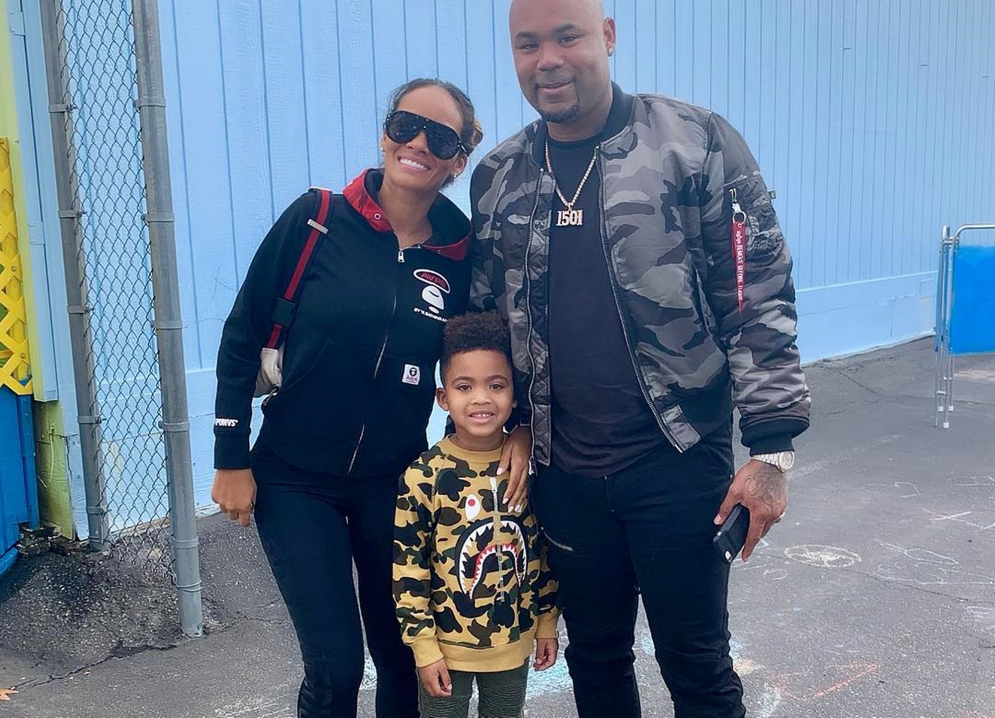 Evelyn Lozada Carl Leo Crawford