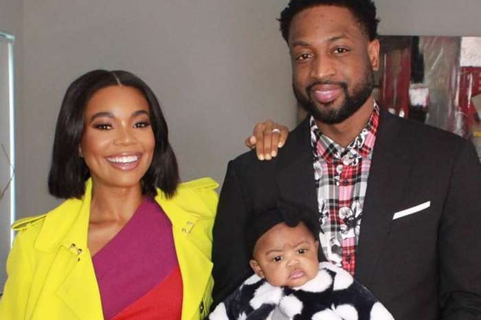 Gabrielle Union Shows Off Curves And Gets Outshined By Baby Kaavia -- Dwayne Wade Will Probably Not Complain About The Cuteness Of The Picture