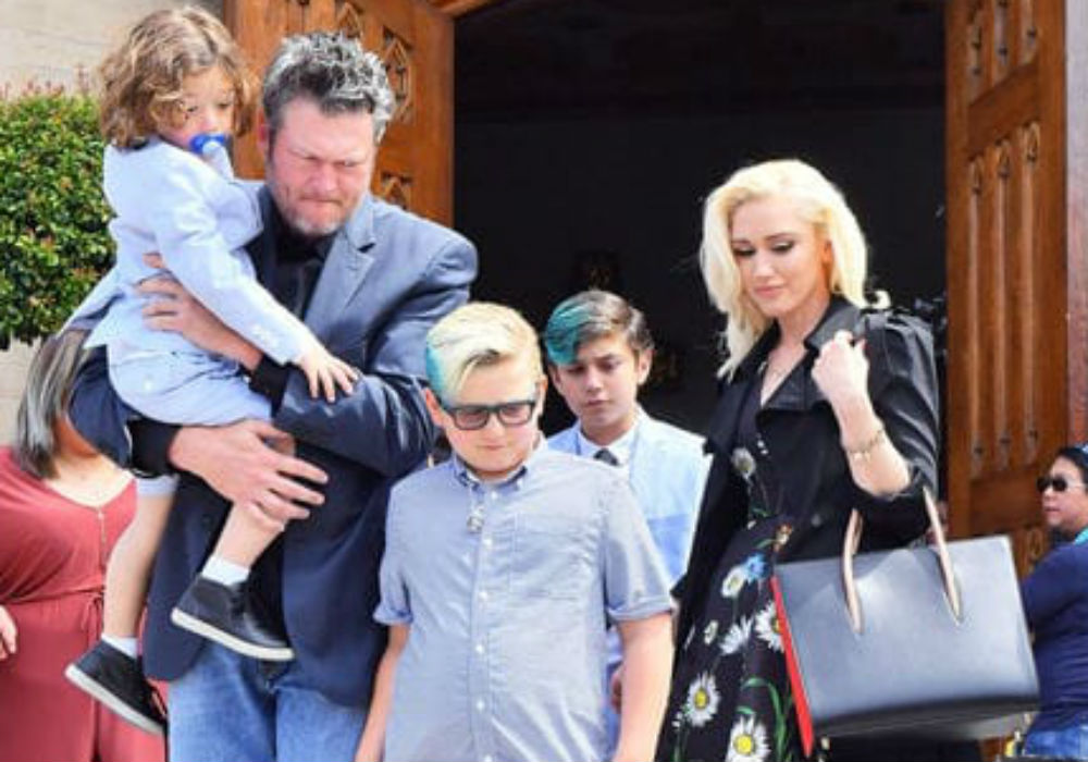 """gwen-stefani-and-blake-shelton-step-out-with-her-boys-as-wedding-rumors-swirl"""