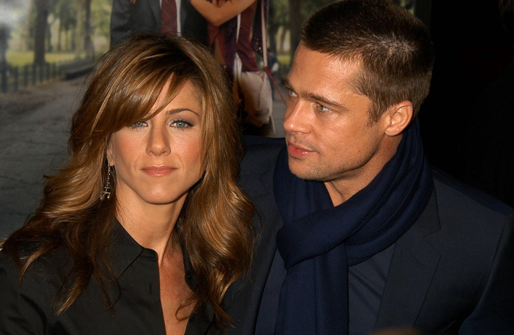 Jennifer Aniston Brad Pitt Angelina Jolie