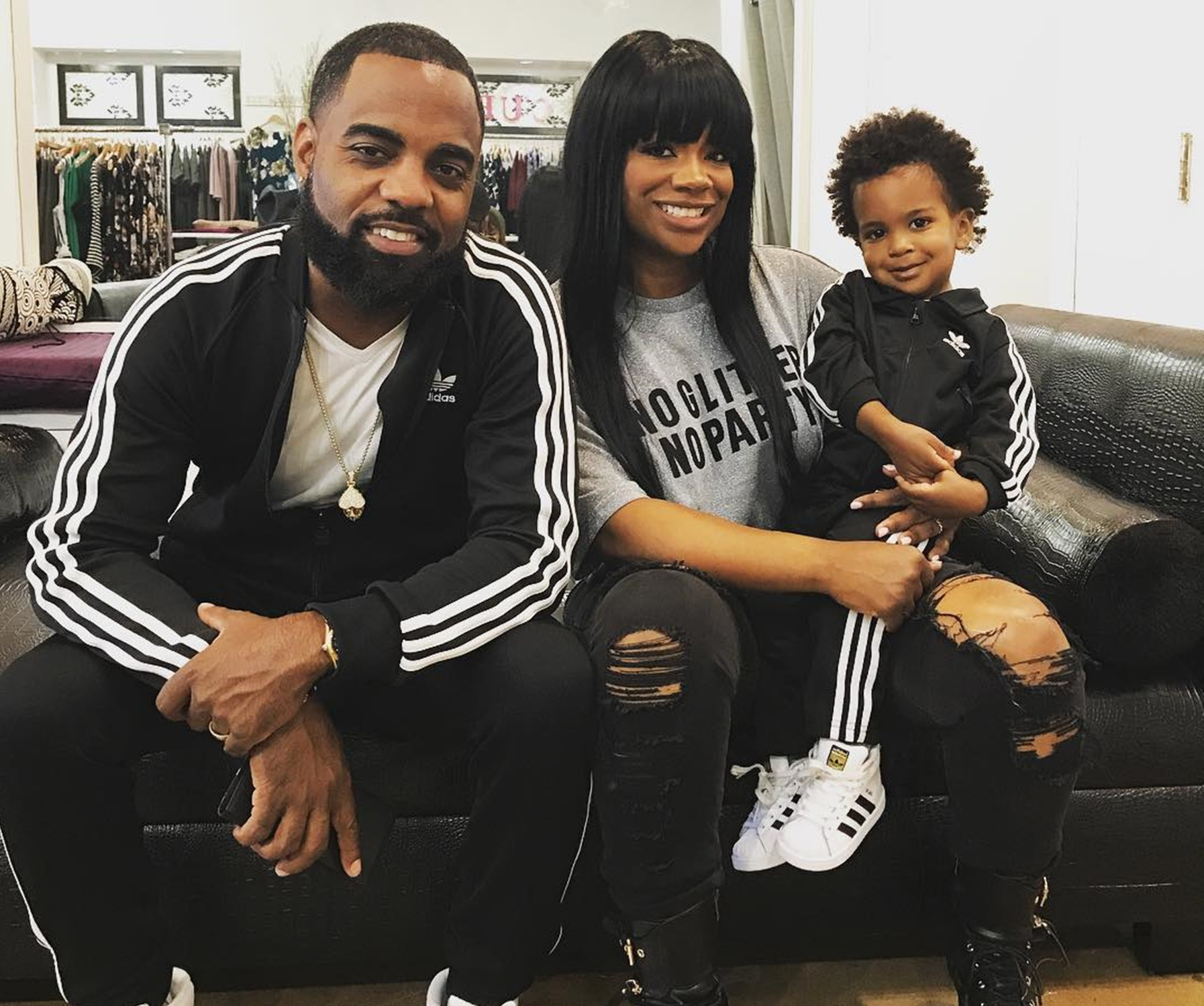 Kandi Burruss And Todd Tucker Are The Proudest Parents: Ace Wells Tucker Was Nelson Mandela In His School's Black History Month Play - Fans Are Praising The Boy's Flawless Look