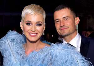 Katy Perry Was Beaming And Showing Off Her Ring On The American Idol Set After Orlando Bloom Proposal