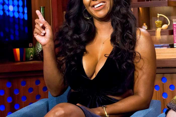 Kenya Moore Shares A Breathtaking Look In White: 'I Did Not Come To Play'