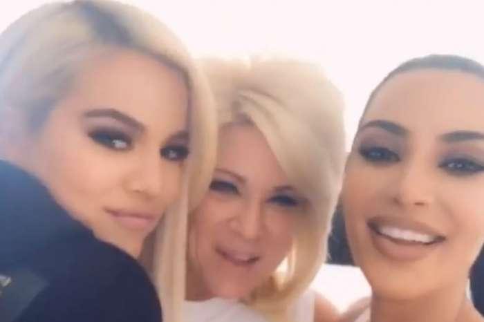 Kim And Khloe Kardashian Have Reading With Long Island Medium Theresa Caputo