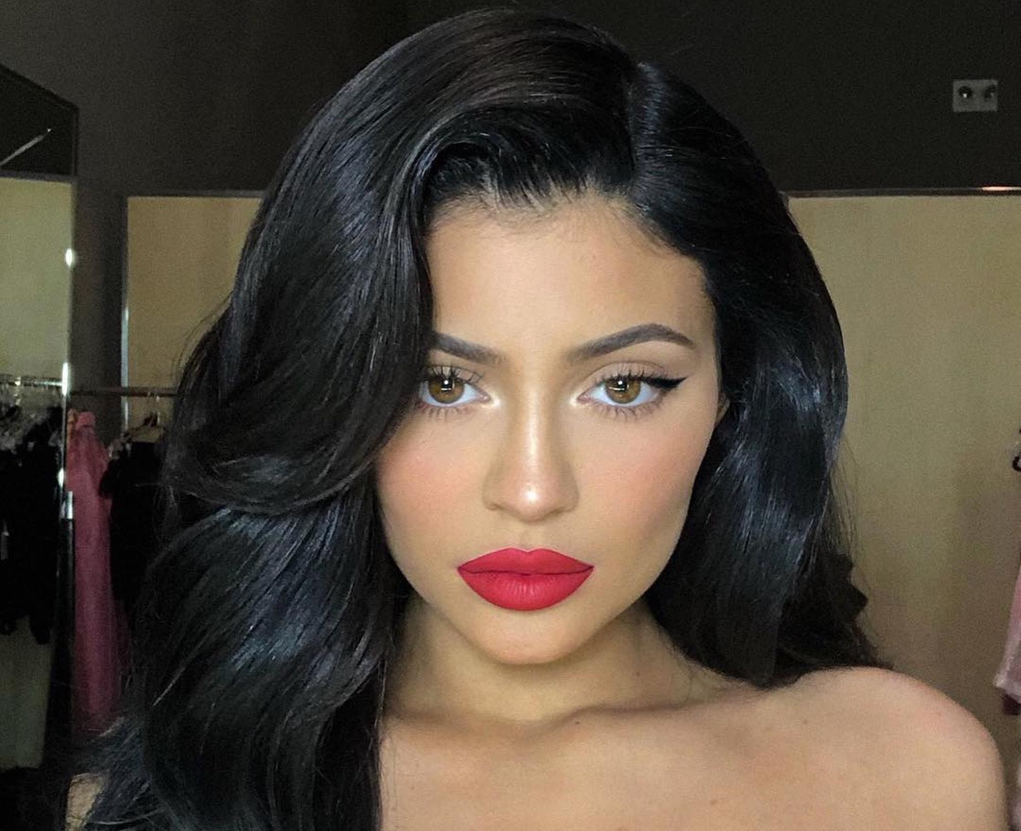 Kylie Jenner Travis Scott Super Bowl
