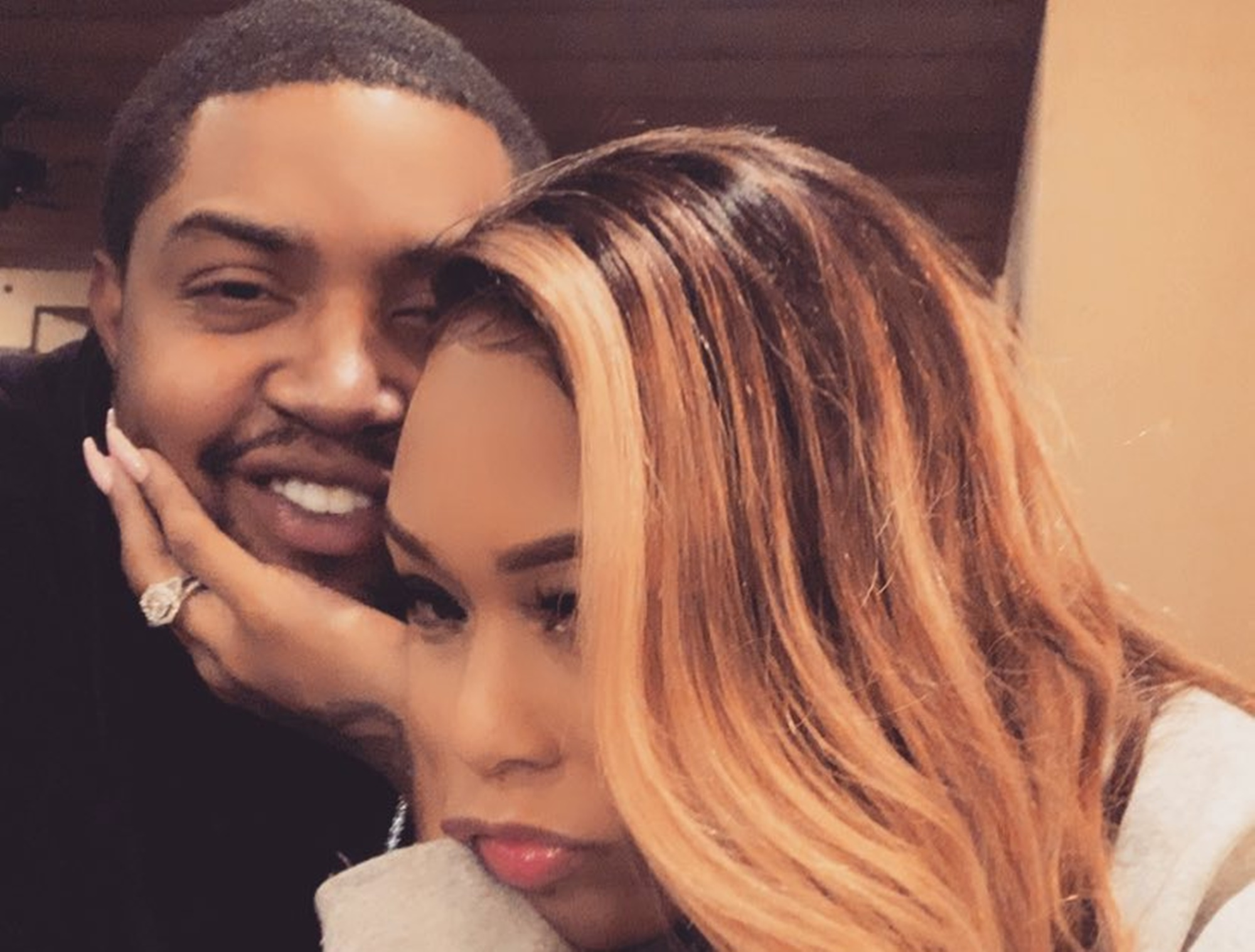 Lil Scrappy Is Probably Smiling His Wife Bambi Benson Shows Off