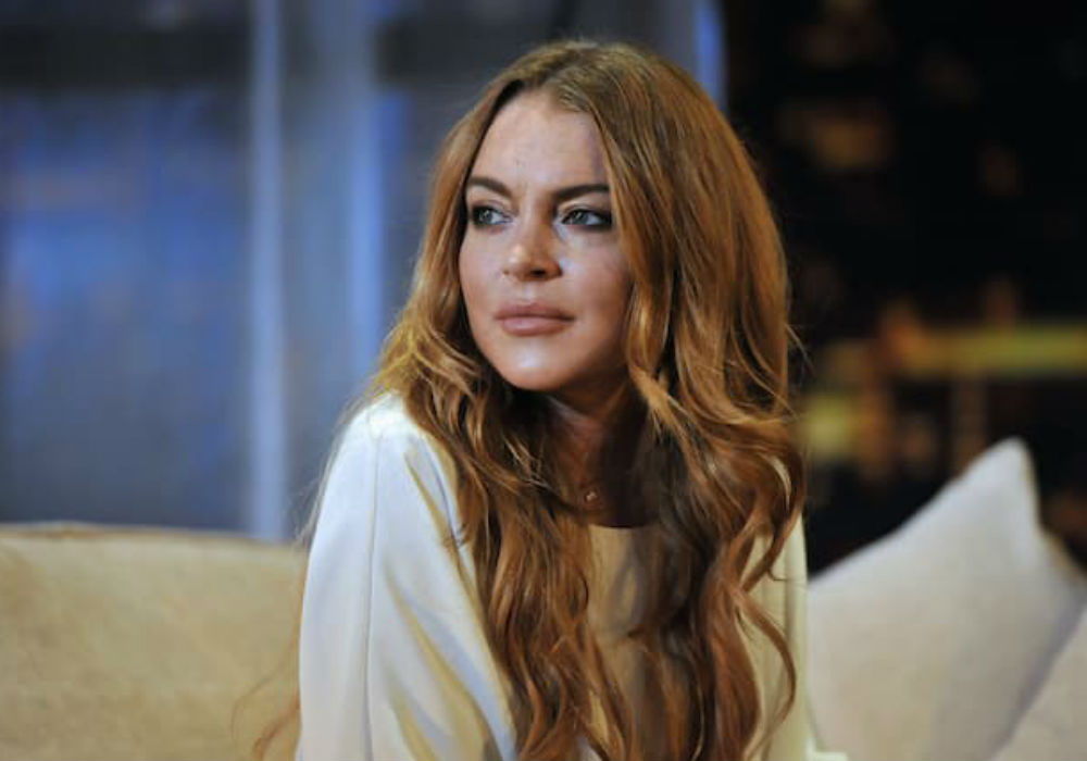 Lindsay Lohan Says There Is A Reason For Her Bizarre Behavior On Social Media