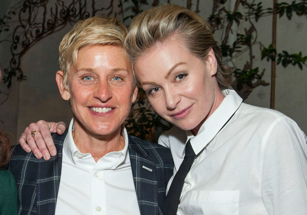 Portia De Rossi Reportedly Spotted In Tears As Reports Claim She And Ellen Degeneres Are Living Separate Lives