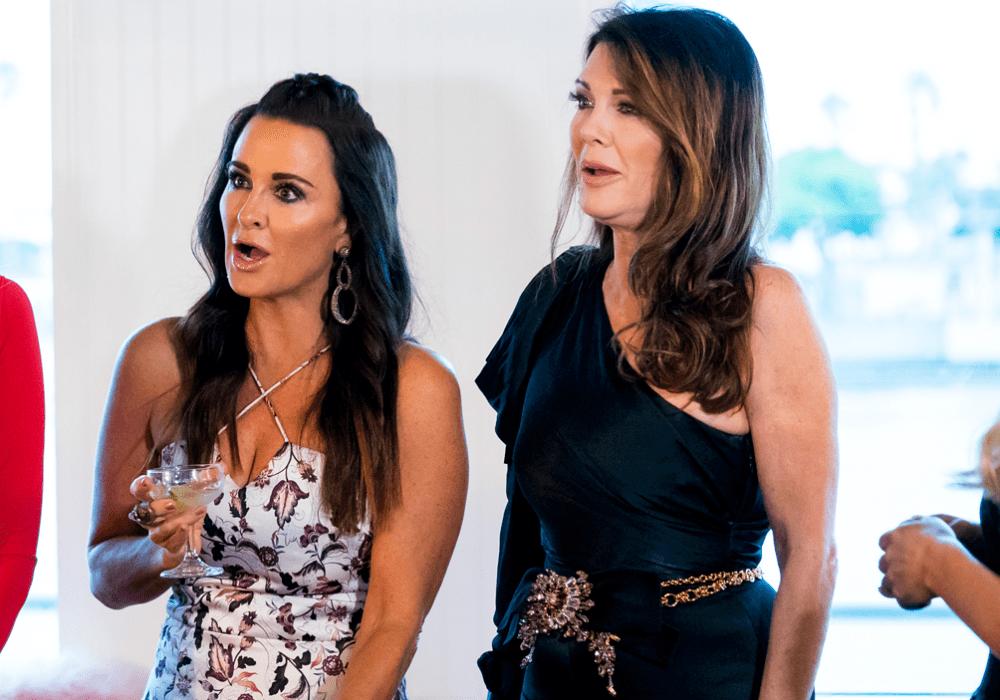RHOBH Lisa Vanderpump Explains What Exactly Went Down With Dorit Kemsley And Kyle Richards