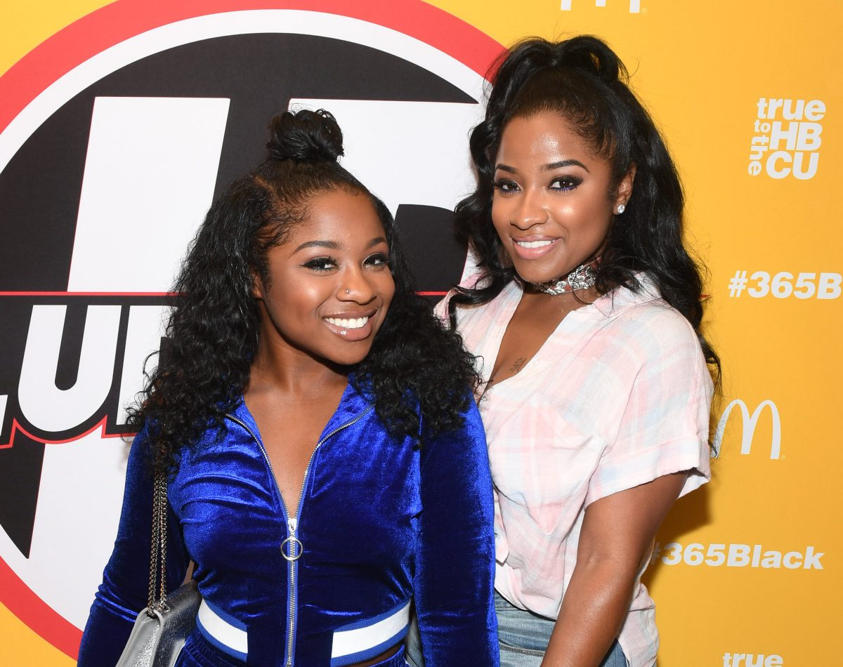 Reginae Carter And Her Mom, Toya Wright Rocked Black Outfits At The Super Bowl - Fans Say They Look Like Sisters