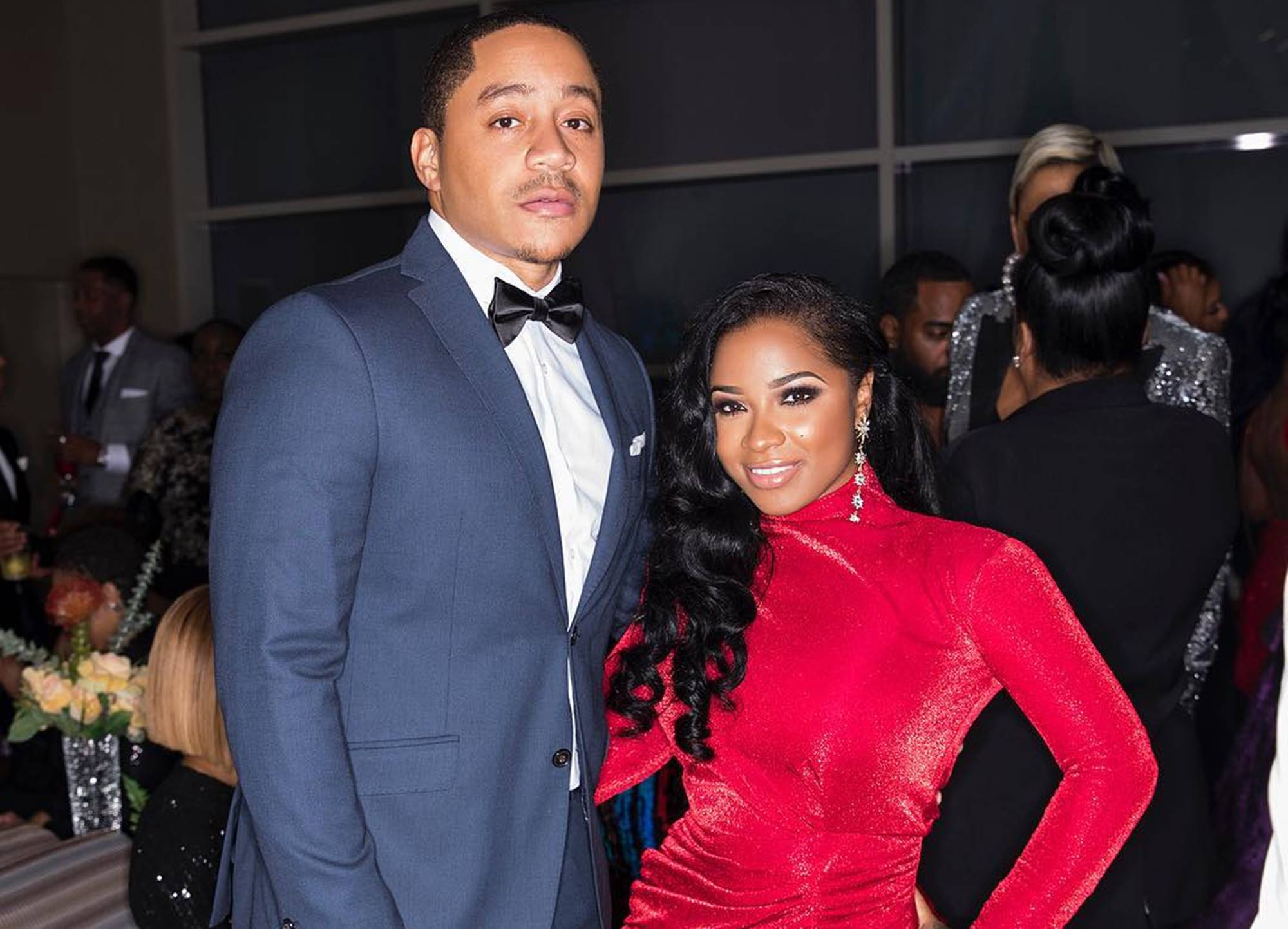 Toya Wright And Robert Rushing Are Twinning In Matching Outfits - Fans Assume The Reason For Which She's Not In A Hurry To Get Married Again