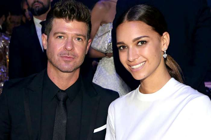 Robin Thicke And April Love Geary Become Parents Of Two - Check Out The First Pics Of Their Newborn!