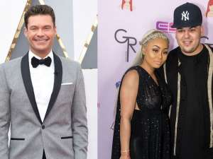 Blac Chyna Files Motion To Force Ryan Seacrest Deposition In Kardashian & Jenner Lawsuit