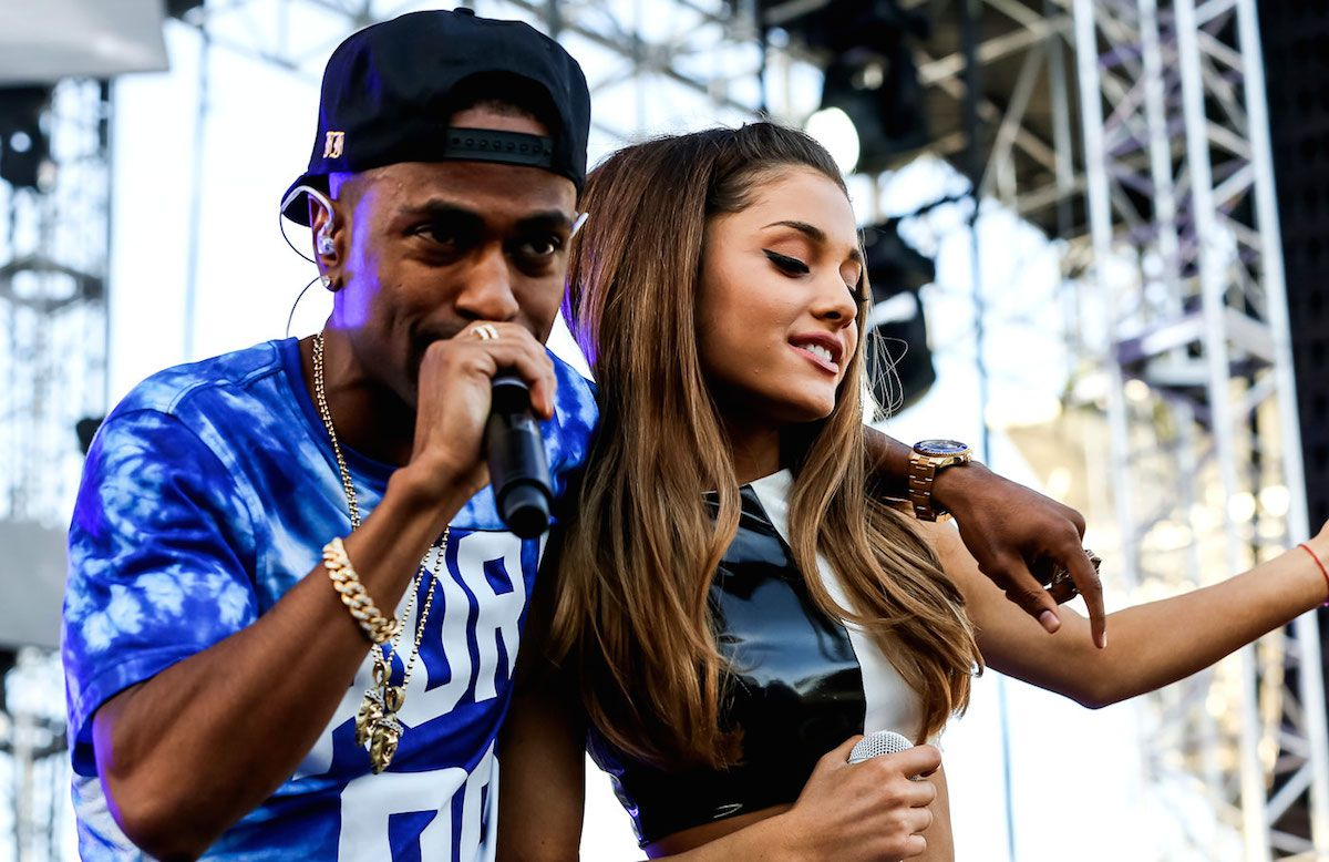 Ariana Grande & Big Sean Spotted Together 'Snuggling' In Car After Studio Session
