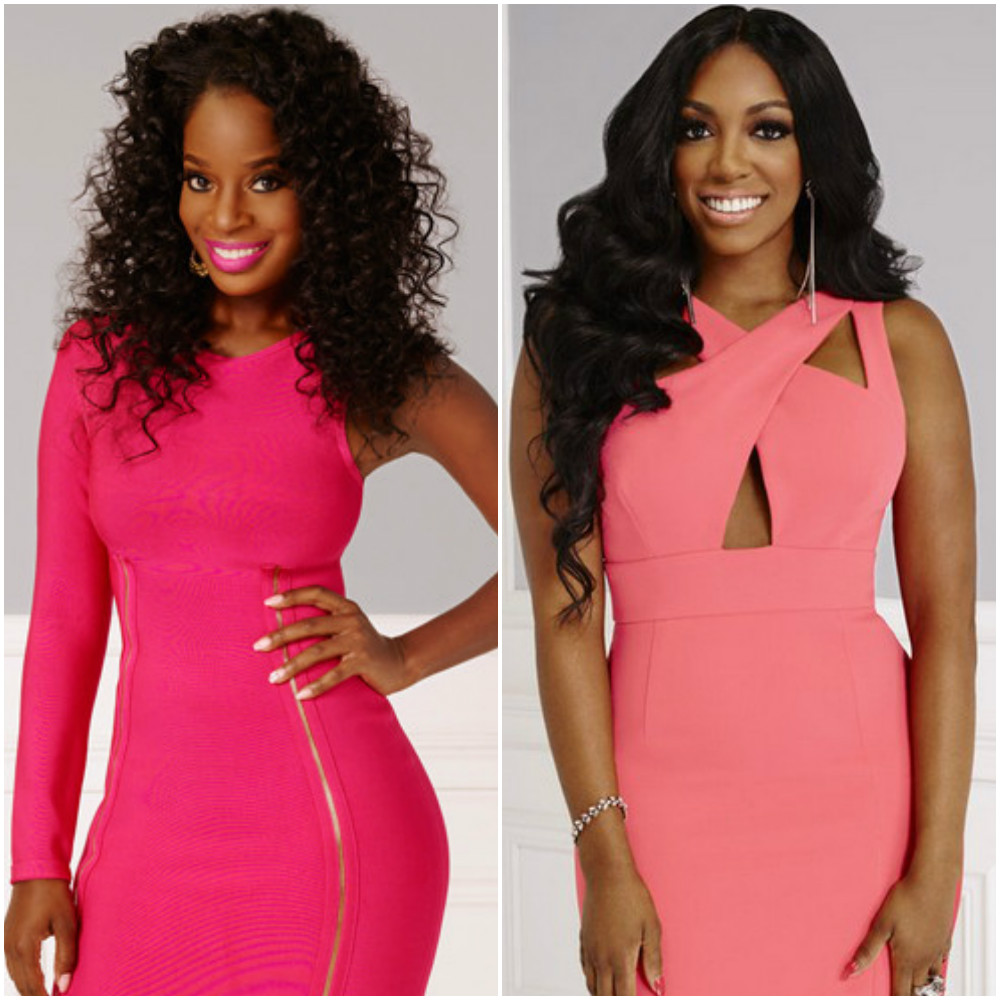 Porsha Williams Attended A Charity Fundraising Brunch And Shamea Morton Was Her Date