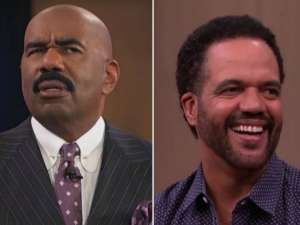 Steve Harvey Shares Last Interview With Late Y&R Actor Kristoff St. John In Never Before Seen Footage