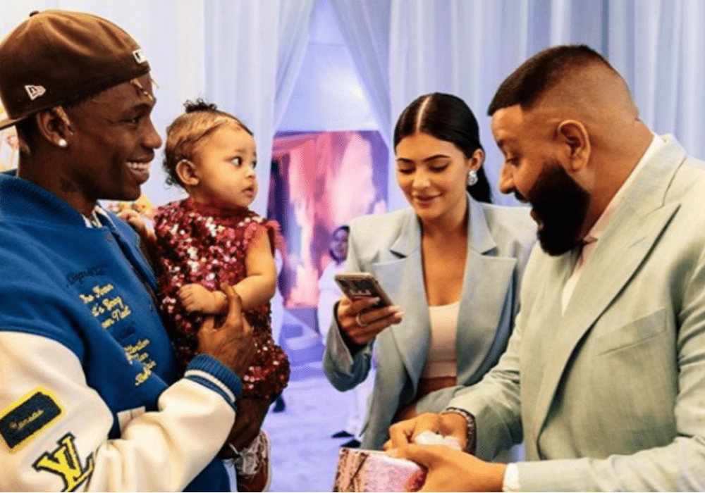 Kylie Jenner and Travis Scott Throw A 'STORMIWORLD' Birthday Party