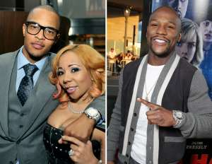 Floyd Mayweather Brings Up T.I.'s Cheating After Tiny Harris' Husband Dissed The Boxer On New Song