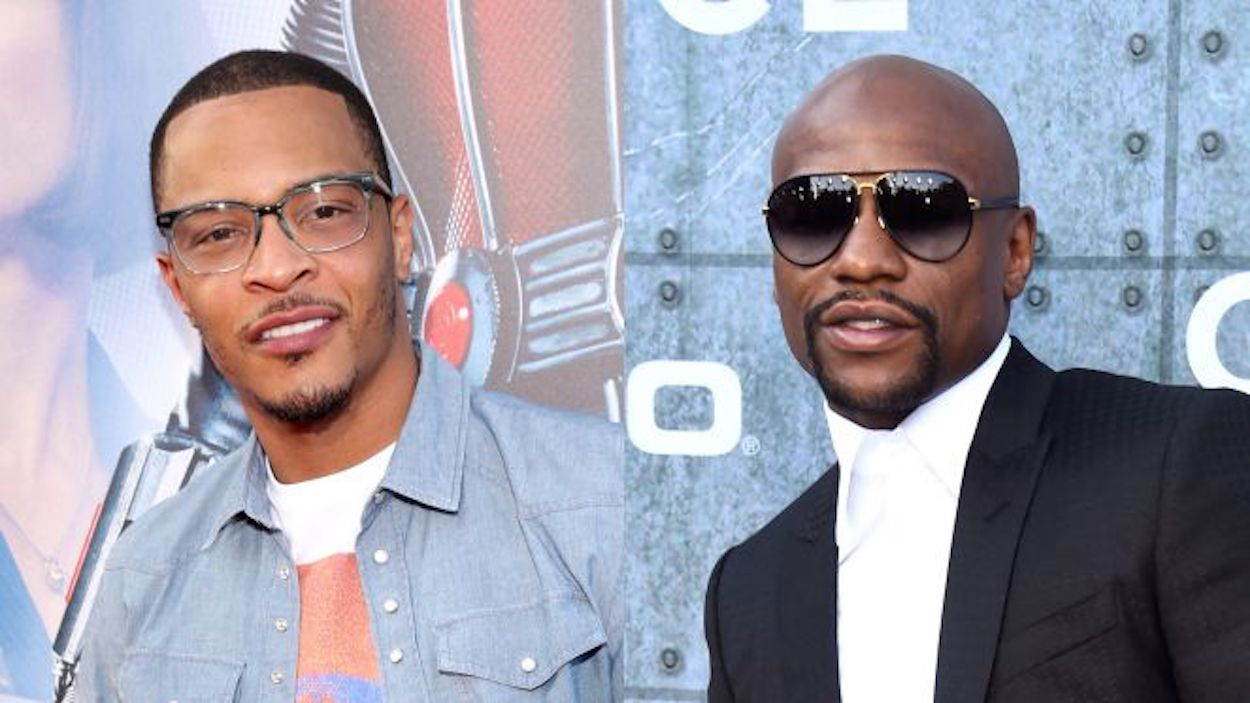 T.I. Responds To Accusations That His Problem With Floyd Mayweather Is About Tiny Harris And Not Gucci - Watch His Video