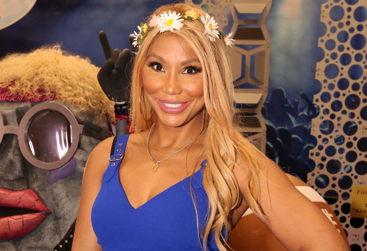 Tamar Braxton Shares Photos From The Set Of 'The Bold And The Beautiful' Telling Fans How She Used To Dream About Marrying Don Diamontt