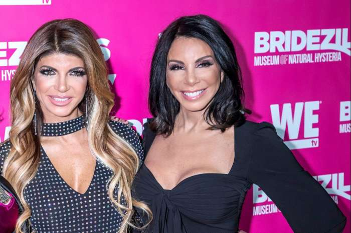 Teresa Giudice Addresses Report That She And Danielle Staub Are Friedly Just Because She Has Something On Her