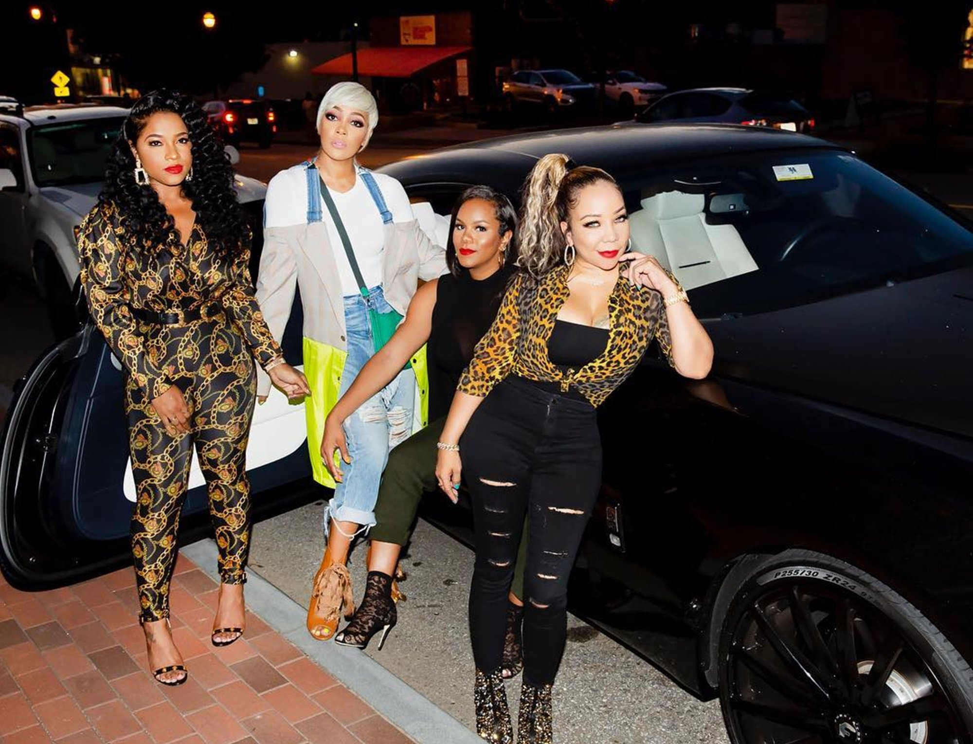 Tiny Harris Flaunts An Amazing Look In The Latest Video With Marlo Hampton And The Crew On Set For 'Games People Play'