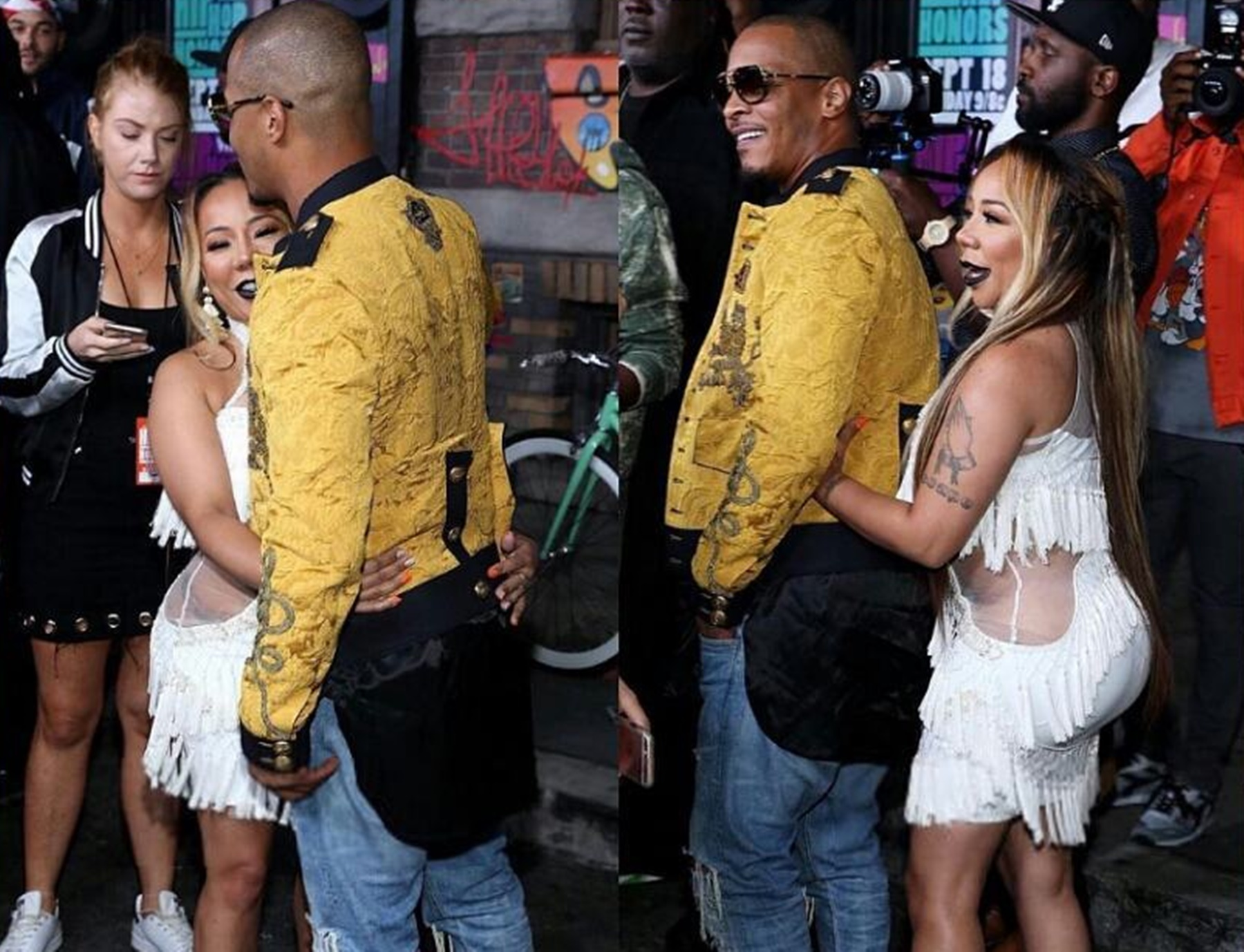 T.I Makes Tiny Cry Tears Of Joy With His Latest Romantic Gesture - Watch The Video