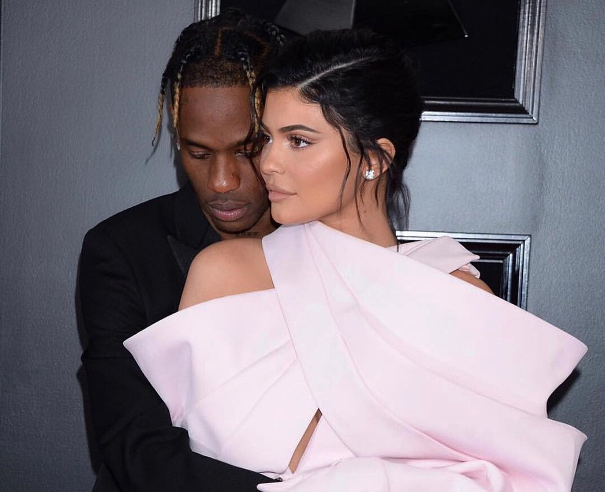 Travis Scott Kylie Jenner Grammy Awards