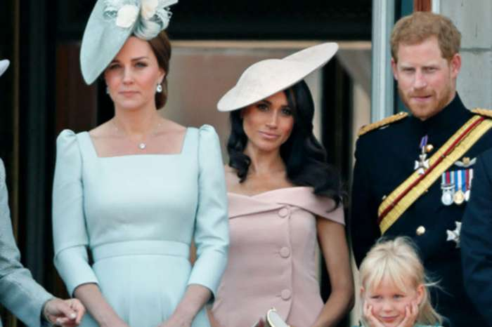 Why Does Kate Middleton Stand In Front Of Meghan Markle At Royal Events?