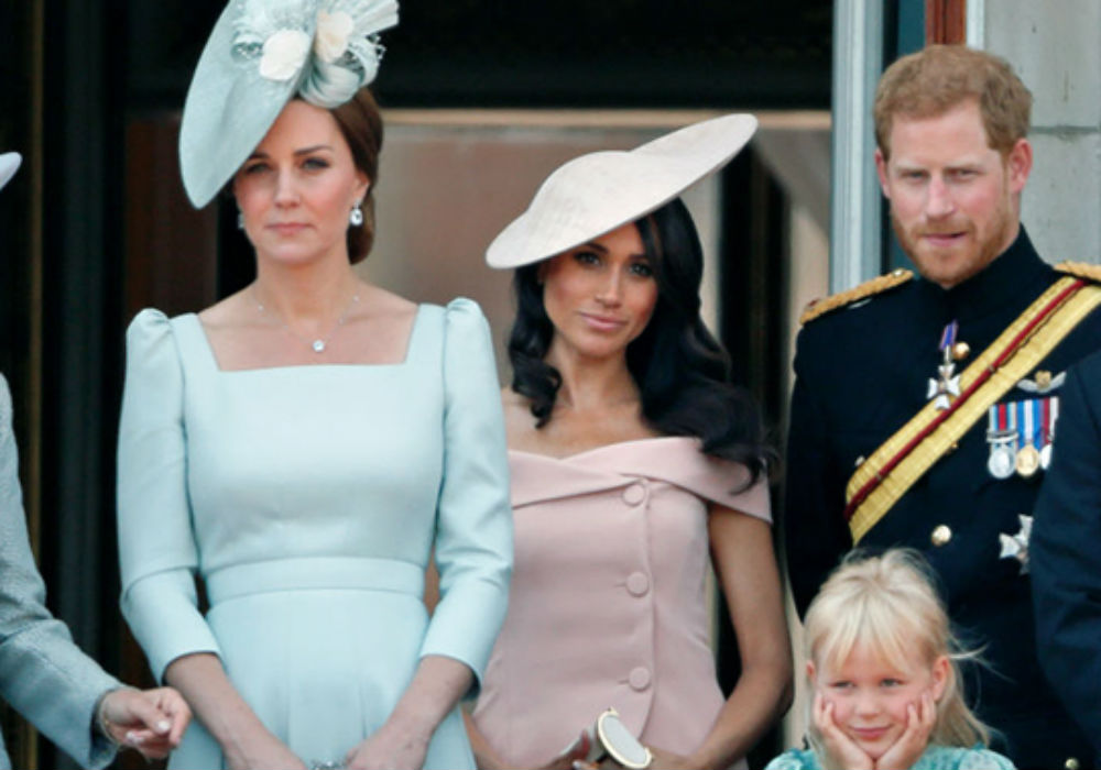 Why Does Kate Middleton Stand In Front Of Meghan Markle At Royal Events_