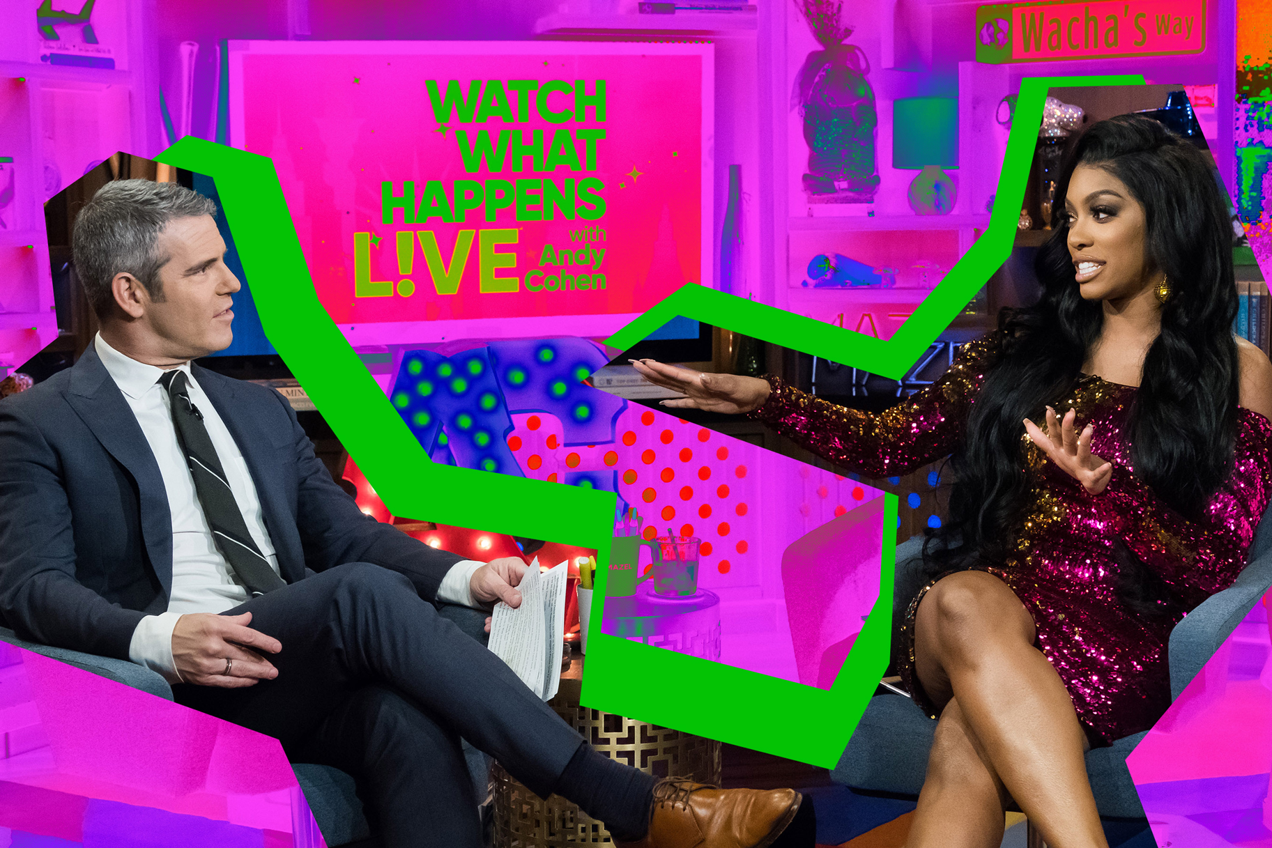 Porsha Williams Gushes Over Dad Andy Cohen And His Baby Boy, Benjamin