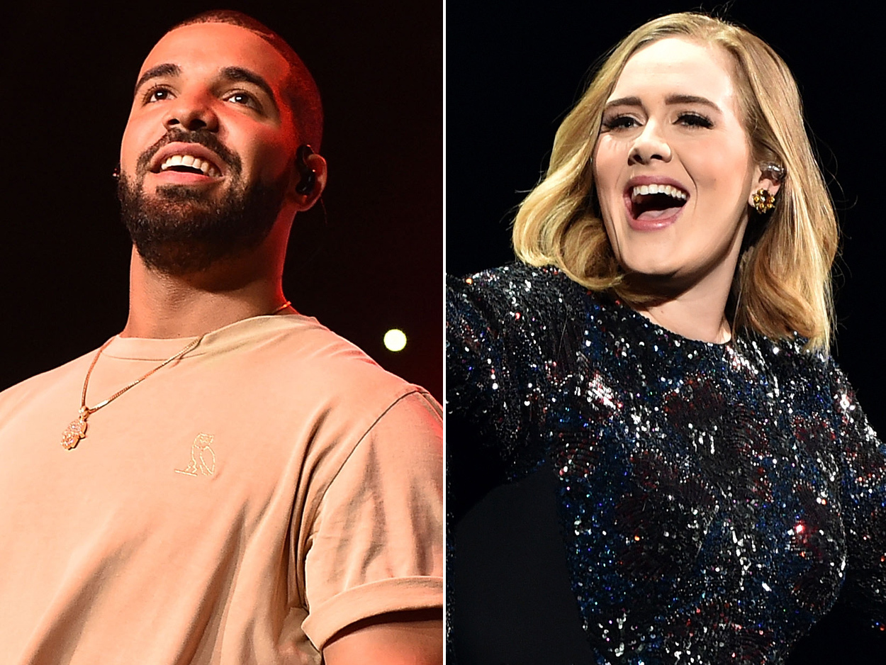 Drake parties with Adele in LA