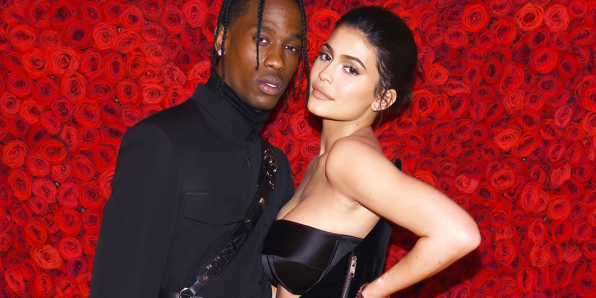 Kylie Jenner Shows Off The Gorgeous Flower Arrangement Travis Scott Prepared For Her For Valentine's Day - Fans Wonder If He Proposed