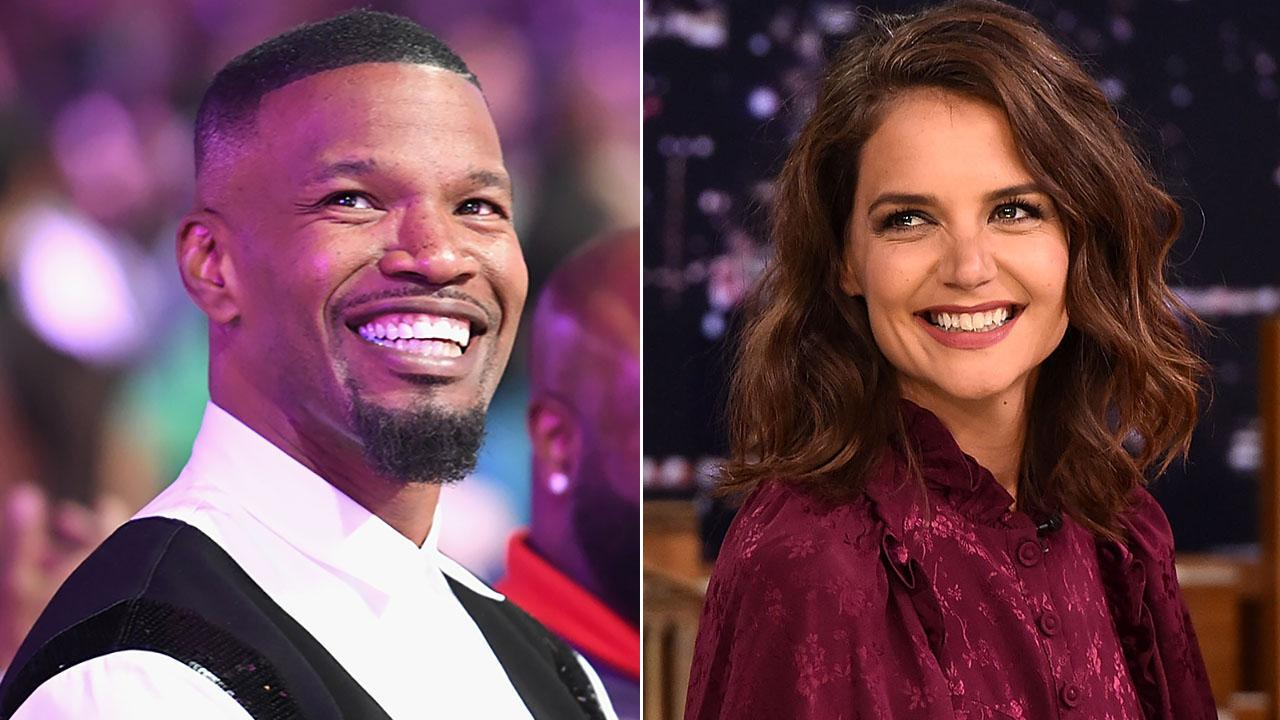 Jamie Foxx sparks rumours that he's SPLIT from Katie Holmes