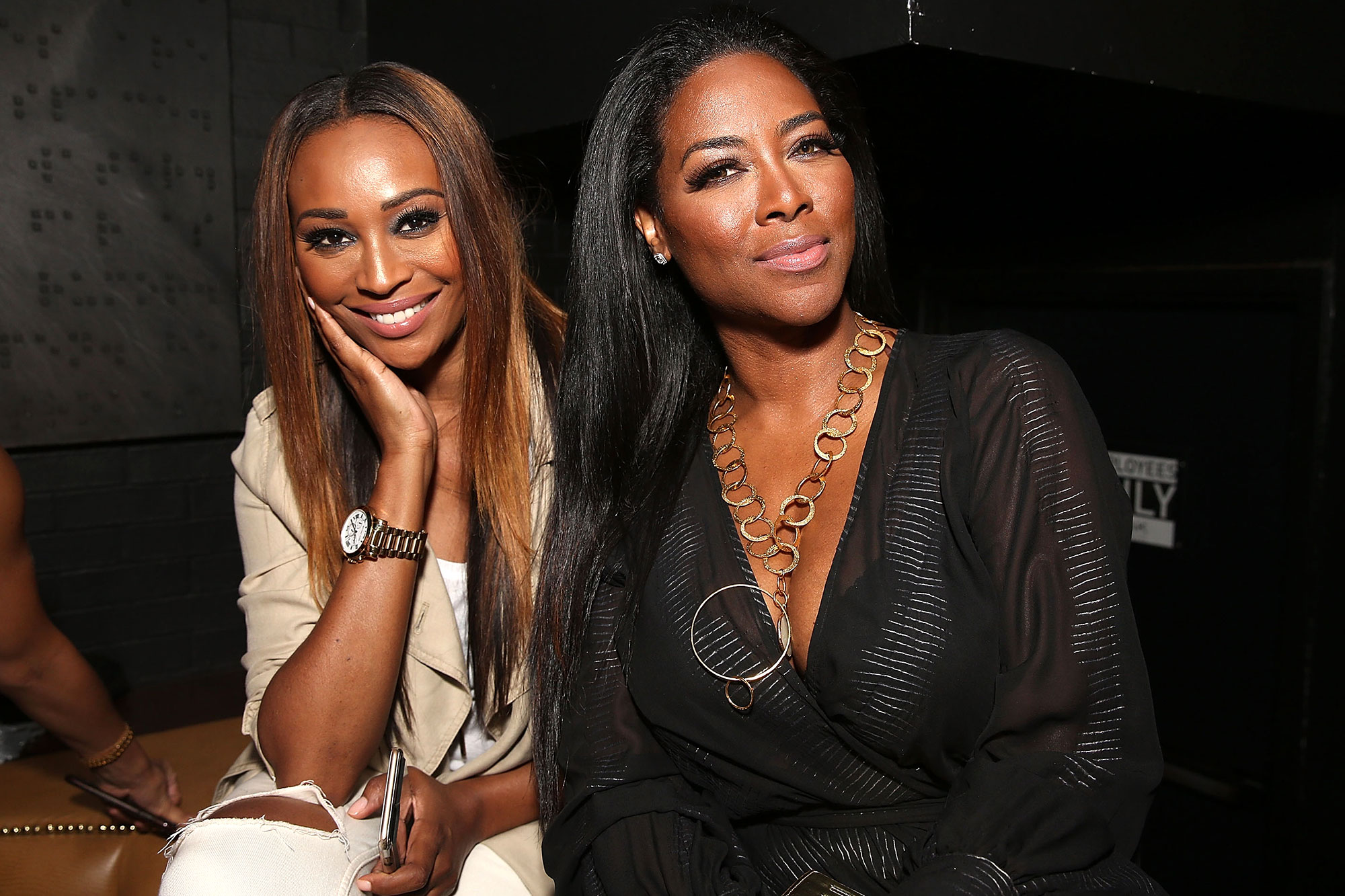 Cynthia Bailey And Kenya Moore Celebrate The Super Bowl Weekend - There's A Meet And Greet Session With Kenya Today!