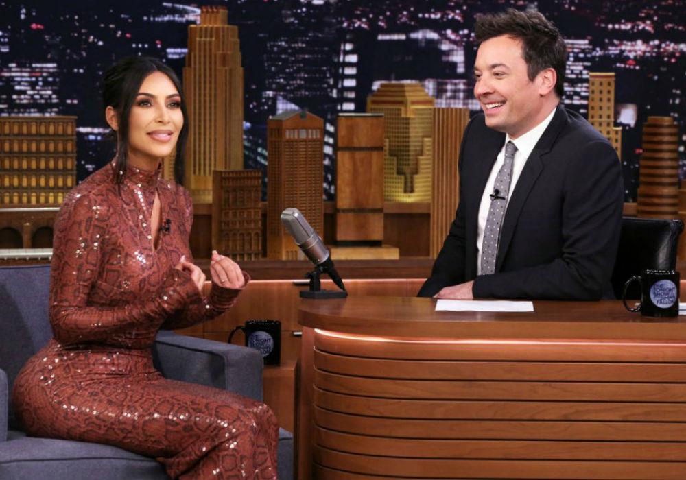 Kim Kardashian Jimmy Fallon