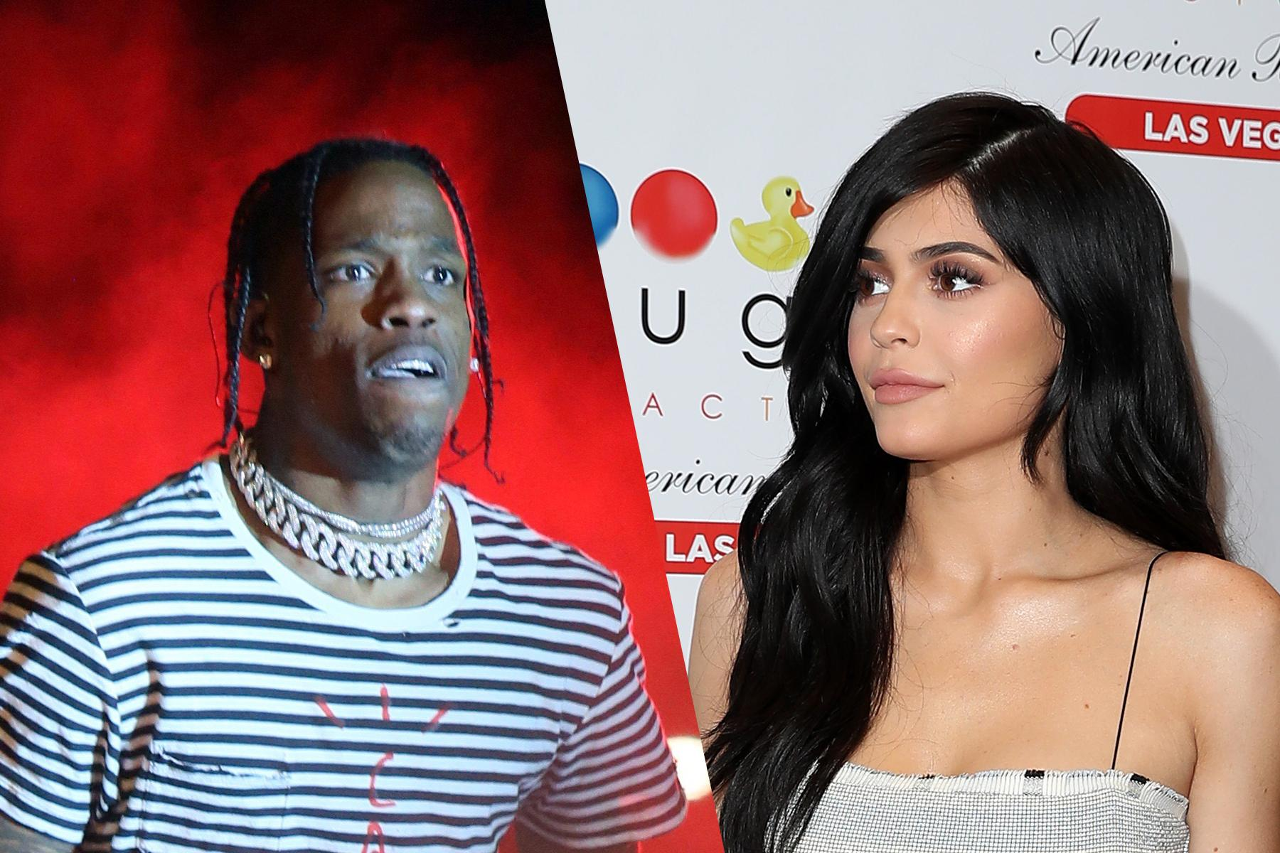 Travis Scott ''Strongly'' Denies That He Cheated on Kylie Jenner