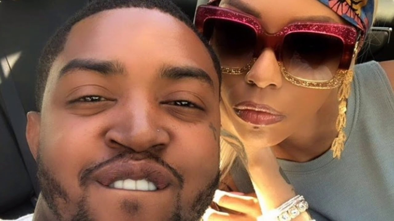 """lil-scrappy-looks-terrified-in-this-video-while-bambi-benson-is-grabbing-shaming-him-in-front-of-kirk-frost-fans-are-laughing-their-hearts-out-making-captions"""