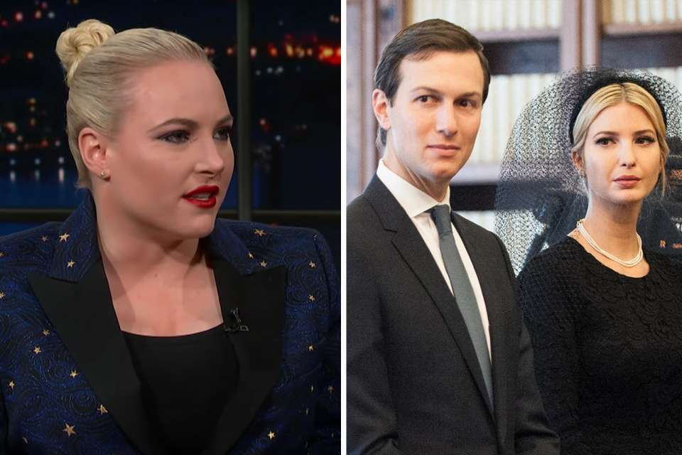 Meghan McCain Drags Ivanka Trump And Her Husband For Crashing Her Father's Funeral