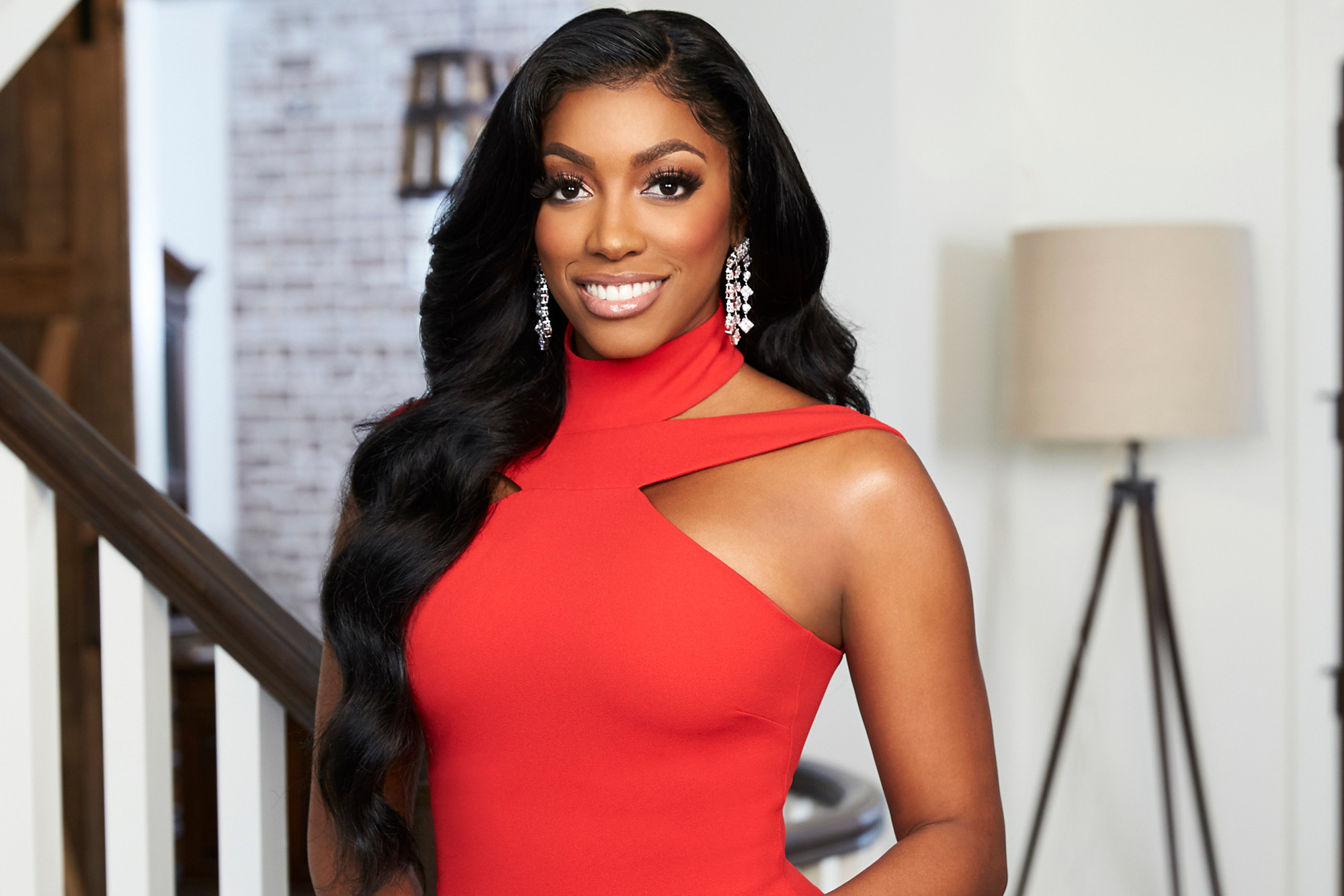 Porsha Williams' Jaw-Dropping Look From Her Baby Shower Day Has Fans In Awe - She Rocks A Red Skin-Tight Dress