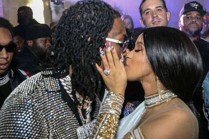 Cardi B Twerks On Offset, While Showing Off Her Engagement Ring