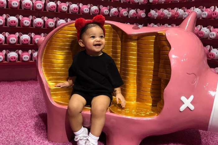 KUWK: Kylie Jenner Had A Huge Inflatable Stormi Head At Daughter's First B-Day Party - Inspired By Dad Travis Scott's 'Astroworld'